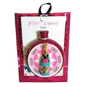 Betsey Johnson Truth or Dare Champagne Flask